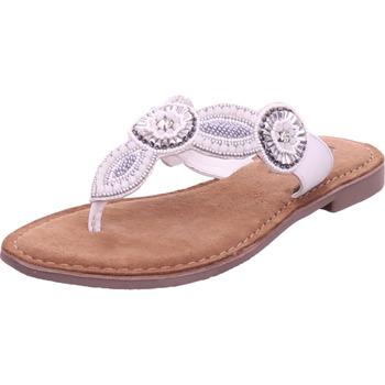 Schuhe Damen Zehensandalen Queens - 8178 weiß