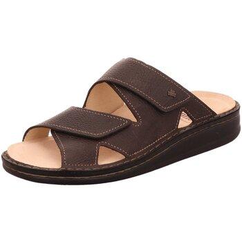 Schuhe Herren Pantoffel Finn Comfort Offene DANZIG S 81529 348309 braun