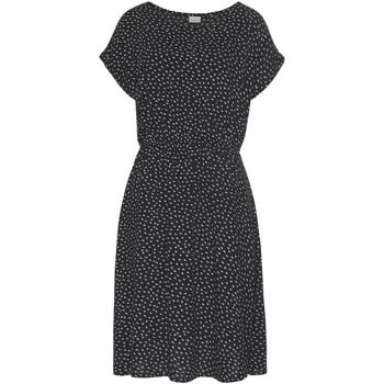 Kleidung Damen Kurze Kleider Lascana Sommerkleid kurze Ärmel Schwarz Und Weiß Perlschwarz