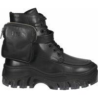 Schuhe Damen Boots Bronx Stiefelette Schwarz