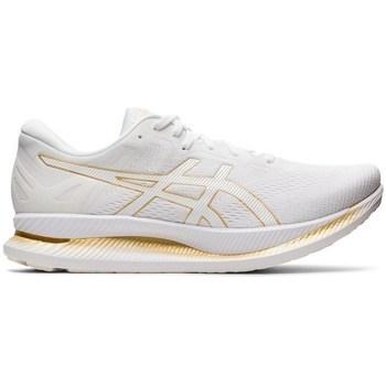 Schuhe Damen Laufschuhe Asics Glideride Weiß