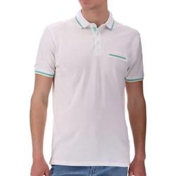 Kleidung Herren Polohemden Sun Valley SV-BENGAL Weiss