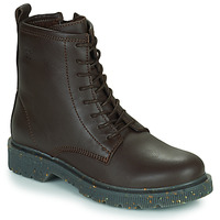 Schuhe Damen Boots Dream in Green PARBOL Braun