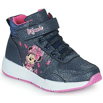 Schuhe Mädchen Sneaker High Disney MINNIE Schwarz