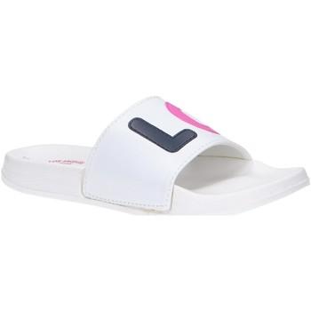 Schuhe Mädchen Pantoletten Lois 83968 Blanco