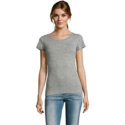 Kleidung Damen T-Shirts Sols Mixed Women camiseta mujer Gris