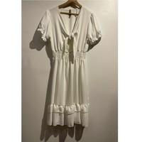 Kleidung Damen Kurze Kleider Fashion brands 9176-BLANC Weiss