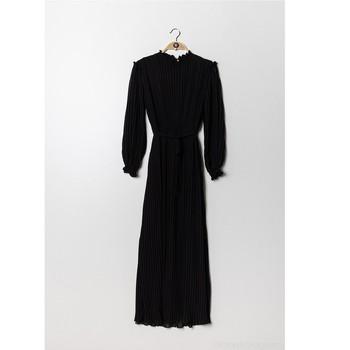Kleidung Damen Maxikleider Fashion brands 9805-NOIR Schwarz