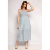 Kleidung Damen Kurze Kleider Fashion brands 571-BLEU-CLAIR Blau