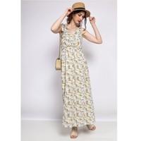 Kleidung Damen Kurze Kleider Fashion brands R182-BEIGE Beige