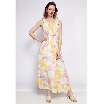Kleidung Damen Maxikleider Fashion brands R185-JAUNE Gelb