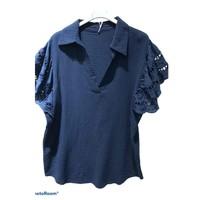 Kleidung Damen Tops / Blusen Fashion brands 310311-NAVY Marine