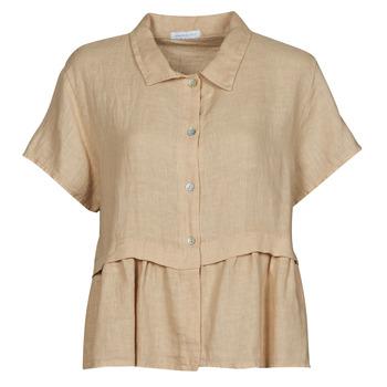 Kleidung Damen Tops / Blusen Fashion brands 10998-BEIGE Beige