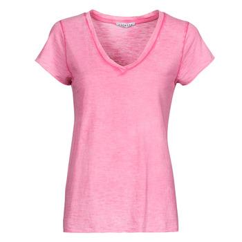 Kleidung Damen Tops / Blusen Fashion brands 029-COEUR-FUCHSIA Fuchsienrot