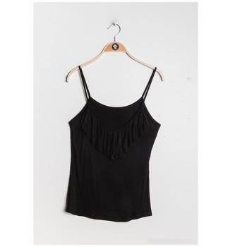 Kleidung Damen Tops / Blusen Fashion brands D852-BLACK Schwarz