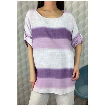 Kleidung Damen Tops / Blusen Fashion brands 156485V-LILAC Lila