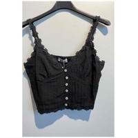 Kleidung Damen Tops / Blusen Fashion brands 6133-BLACK Schwarz
