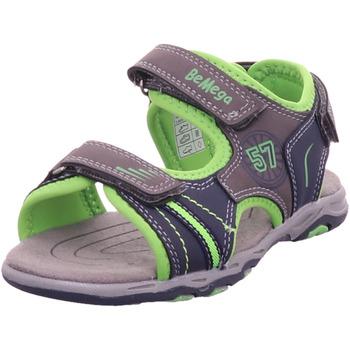Schuhe Jungen Sportliche Sandalen Pep Step - 116130300 grey-navy-lime