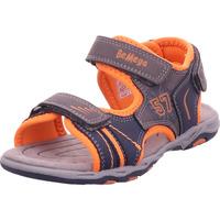 Schuhe Jungen Sportliche Sandalen Pep Step - 116130300 grey-navy-orange