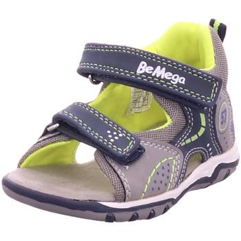 Schuhe Kinder Sportliche Sandalen Pep Step - 1130305 grey-navy-royal-neon yellow