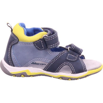 Schuhe Kinder Sportliche Sandalen Pep Step - 1130301 navy-sky-neon yellow