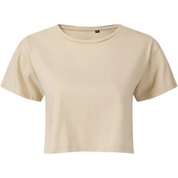 Kleidung Damen Tops / Blusen Tridri TR019 Nude