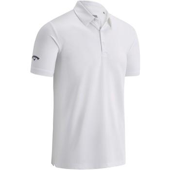 Kleidung Herren Polohemden Callaway CW025 Leuchtend Weiß