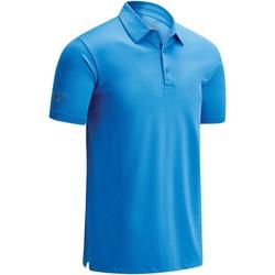 Kleidung Herren Polohemden Callaway CW025 Himmelblau
