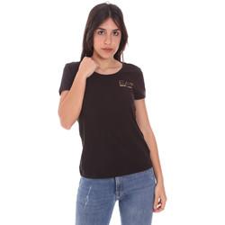 Kleidung Damen T-Shirts Ea7 Emporio Armani 8NTT65 TJ28Z Schwarz