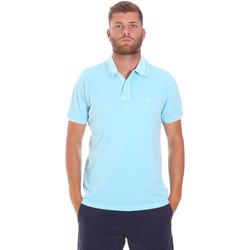 Kleidung Herren Polohemden Sundek M787PLPQ1TC Blau