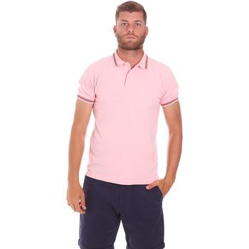Kleidung Herren Polohemden Sundek M779PLJ6500 Rosa