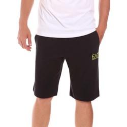 Kleidung Herren Shorts / Bermudas Ea7 Emporio Armani 3KPS59 PJ05Z Schwarz