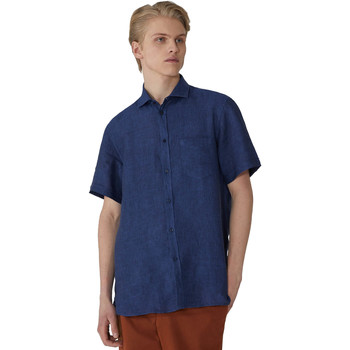 Kleidung Herren Kurzärmelige Hemden Trussardi 52C00213-1T002248 Blau