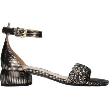 Schuhe Damen Sandalen / Sandaletten Carmens Padova 45075 Schwarz