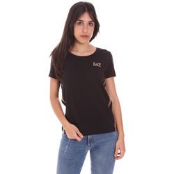 Kleidung Damen T-Shirts Ea7 Emporio Armani 3KTT51 TJ9VZ Schwarz