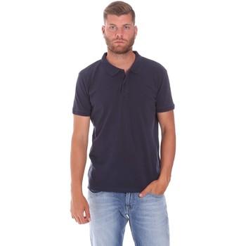 Kleidung Herren Polohemden Lumberjack CM45940 017EU Blau