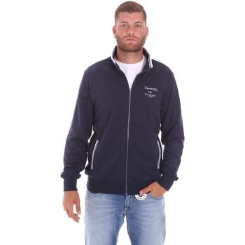Kleidung Herren Sweatshirts Key Up 2F451 0001 Blau