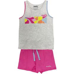 Kleidung Kinder Jogginganzüge Diadora 102175900 Grau
