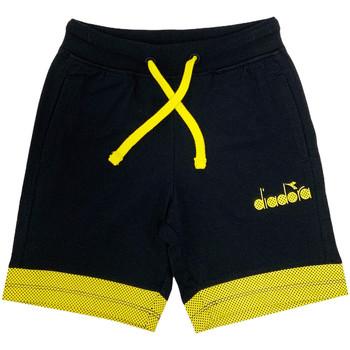 Kleidung Kinder Shorts / Bermudas Diadora 102175908 Schwarz