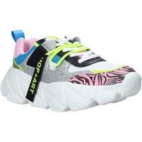 Schuhe Damen Sneaker Low Shop Art SA050144 Rosa
