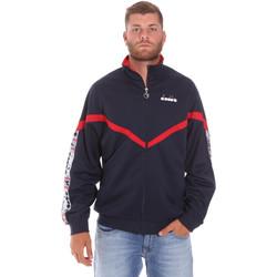 Kleidung Herren Trainingsjacken Diadora 502176080 Blau