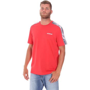 Kleidung Herren T-Shirts Diadora 502176085 Rot