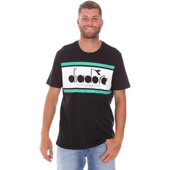 Kleidung Herren T-Shirts Diadora 502176632 Schwarz