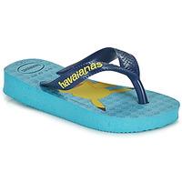 Schuhe Jungen Zehensandalen Havaianas KIDS TOP POKEMON Blau