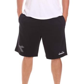 Kleidung Herren Shorts / Bermudas Diadora 102175856 Schwarz