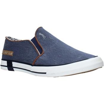 Schuhe Herren Slip on U.s. Golf S20-SUS109 Blau