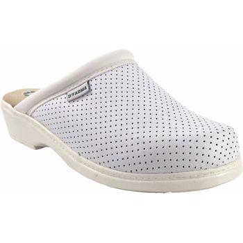 Schuhe Damen Pantoletten / Clogs Bienve Damenschuh  22 weiß anatomischer Clog Weiss