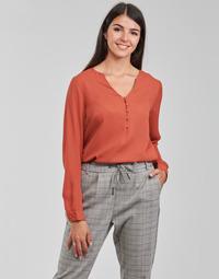 Kleidung Damen Tops / Blusen Betty London PISSINE Rot