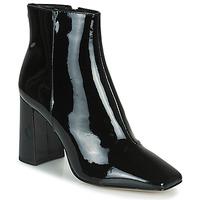 Schuhe Damen Low Boots Cosmo Paris ZANA Schwarz