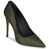Schuhe Damen Pumps Cosmo Paris AELIA 2 Schwarz / Gold